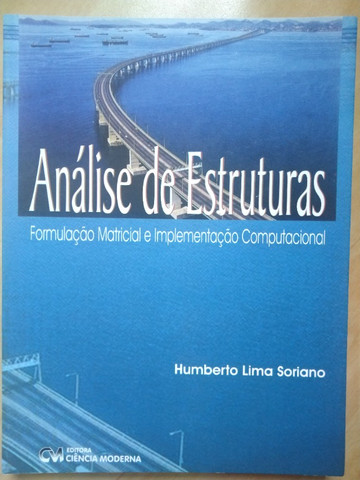 Livro Análise de Estruturas - Humberto Soriano