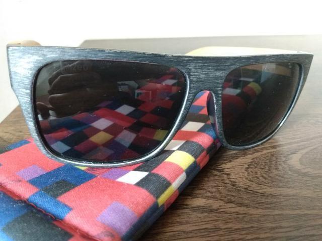 ca7f38ed4 Óculos de sol chilli beans haste de bambu polarizado - Bijouterias ...
