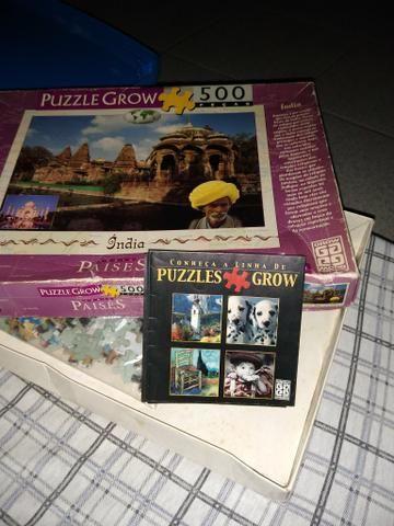 Puzzle Grow 500 peças índia