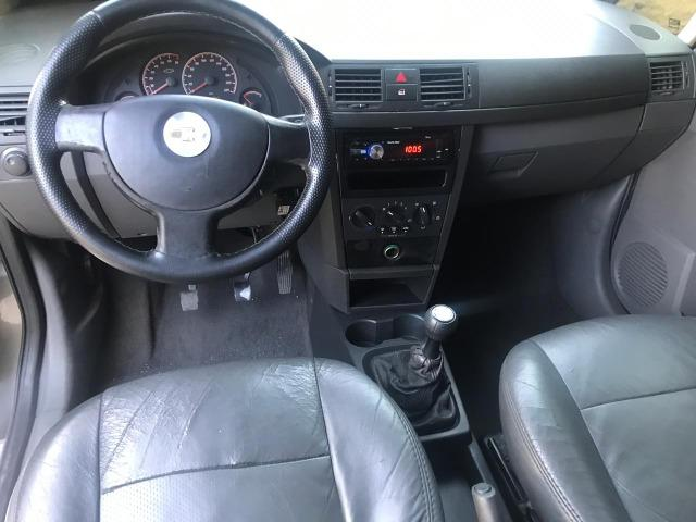 Chevrolet Meriva 1.4 8v flex Couro (Queima de estoque) + kit gas - Foto 9