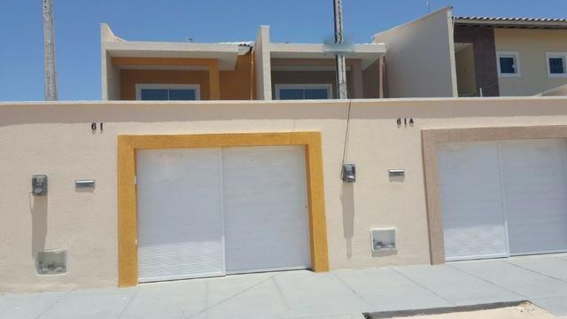 VENDO casa no Eusébio com 123 m² e 4 quartos. Próximo ao colégio Ágape e CE 040 - Foto 2