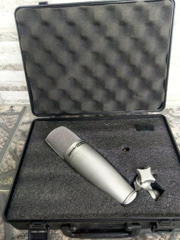Vendo Barato Microfones,tripé e headphone - Foto 2
