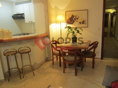Apartamento à venda com 1 dormitórios em Itaim bibi, São paulo cod:345-IM32740