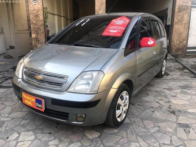 Chevrolet Meriva 1.4 8v flex Couro (Queima de estoque) + kit gas - Foto 4