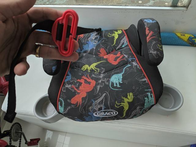Assento para Carro (Booster) - Graco - Novinho!!! - Foto 3
