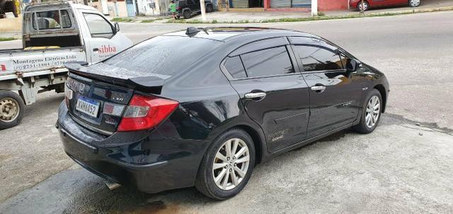 Honda Civic Sedan LXR 2.0 Flexone + GNV 5g 16V Aut. 4p - Preto - 2014 46.900 - Foto 5