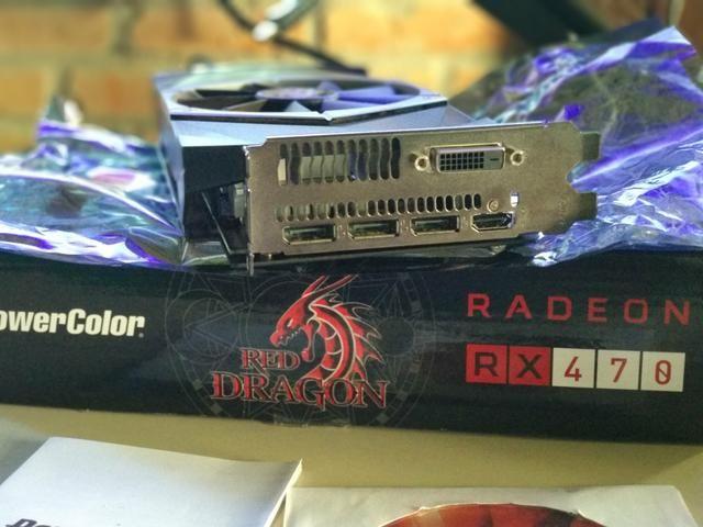 AMD Radeon RX 470 4GB PowerColor Red Dragon