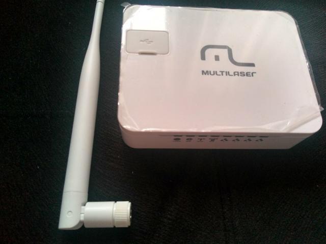 Roteador Wireless Multilaser Novo - Foto 6