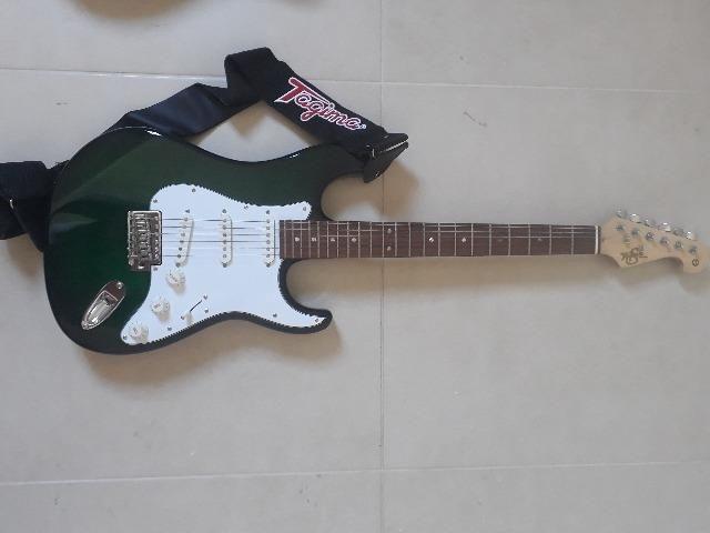 Violão gianinni e guitarra tagima - Foto 5
