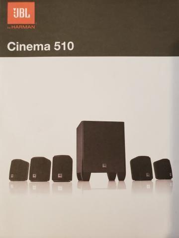 Conjunto Caixas de Som JBL Cinema 510