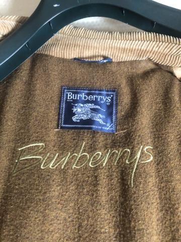 Torro !!! Jaqueta em couro Burberry original e novissima - Foto 2