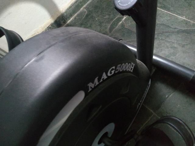 Bicicleta horizontal zerada. Montada e novinha - Foto 2