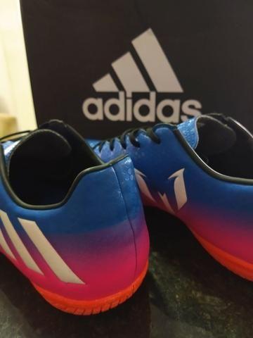 Chuteira Futsal Adidas Messi 16.4 - Foto 2