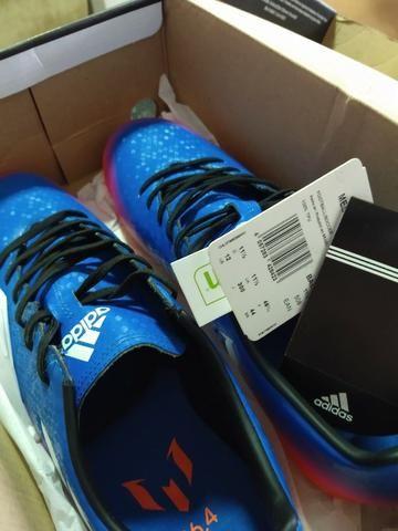 Chuteira Futsal Adidas Messi 16.4 - Foto 6