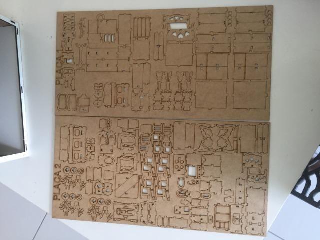 Kit com 30 Mini móveis para Casa de Boneca (Kit Novo) Super Promoção - Só Hoje - Foto 2
