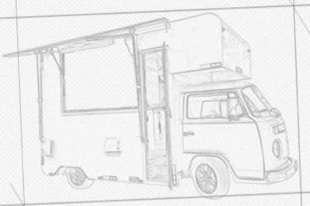 Kombi Food Truck. - Foto 3