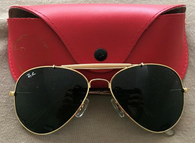 46298b3f6159b Óculos Ray-ban Usado - Bijouterias, relógios e acessórios - Asa Sul ...