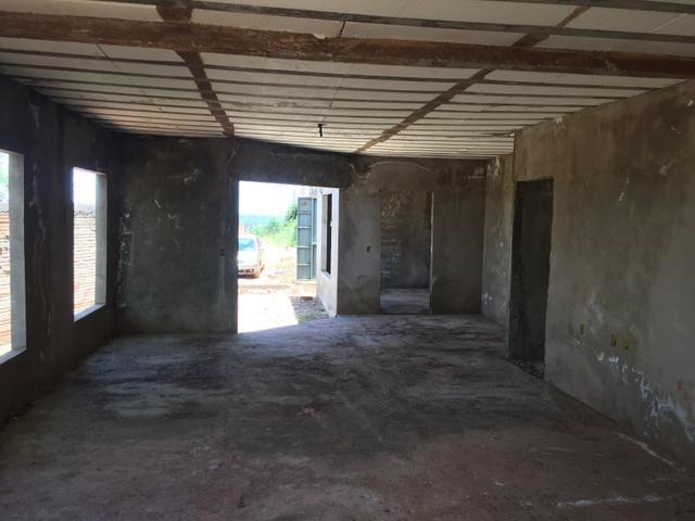 Casa inacabada de 3 qtos na entrada da Arniqueiras quadra 4 - Foto 12