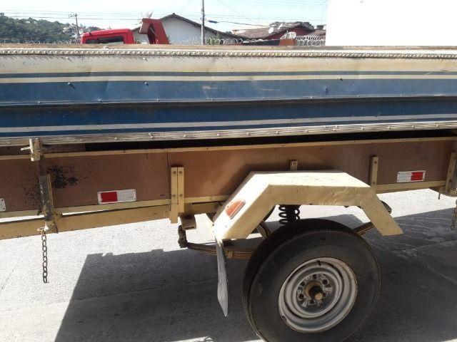 Barco de alumínio e reboque - Foto 10