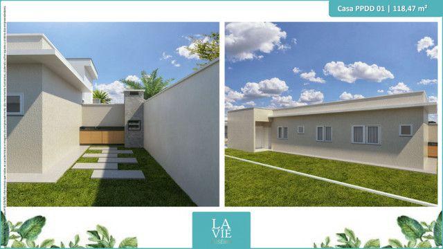 Casa com Pé direito Duplo - 3 suítes - Eusébio - Foto 5