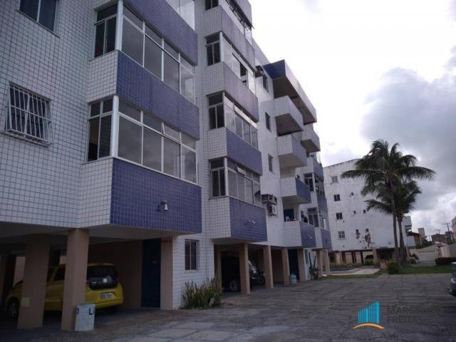 Apartamento com 3 dormitórios para alugar, 80 m² por R$ 859,00/mês - Icaraí - Caucaia/CE - Foto 3