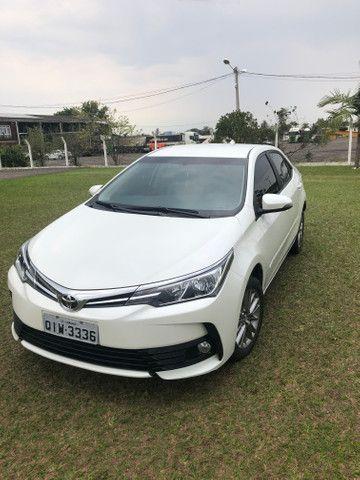 Toyota Corolla gli upper 2019 automático branco pérola - Foto 2