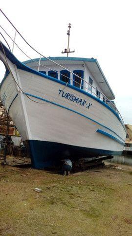 Vendo barco de turismo equipado para mar aberto