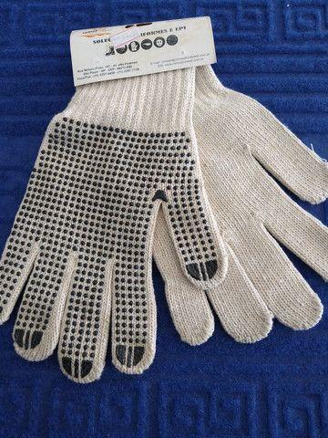 Luva tricotada pigmentada - Foto 4