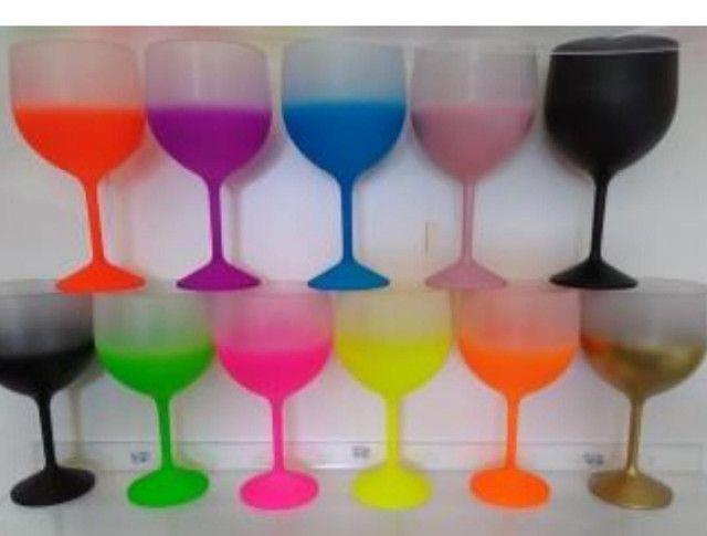 Taças de gin
