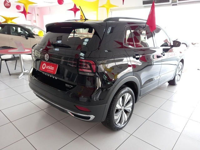 Volkswagen T-Cross Comfortline 1.0 tsi (turbo) - 2020 unico dono impecavel - Foto 4