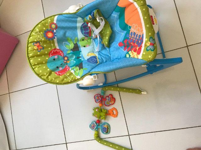 Cadeira de descanso infantil Fisher Price - Foto 4