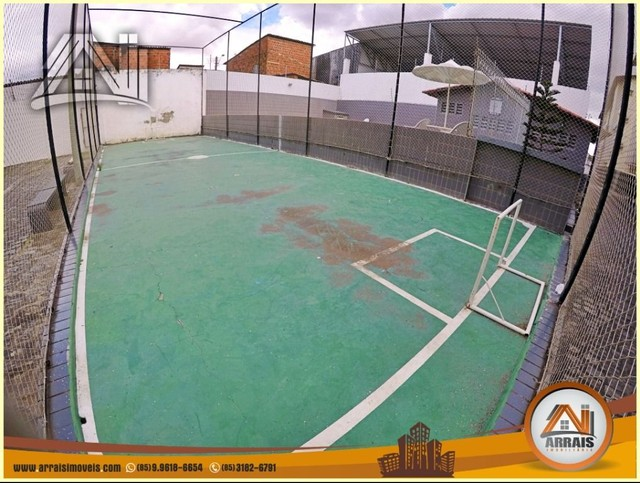 Apartamento com 3 dormitórios à venda, 96 m² por R$ 280.000,00 - Vila União - Fortaleza/CE - Foto 17
