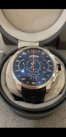 Relógio Tag Heuer Mercedes Benz SLS Top de Linha a prova d'água Completo