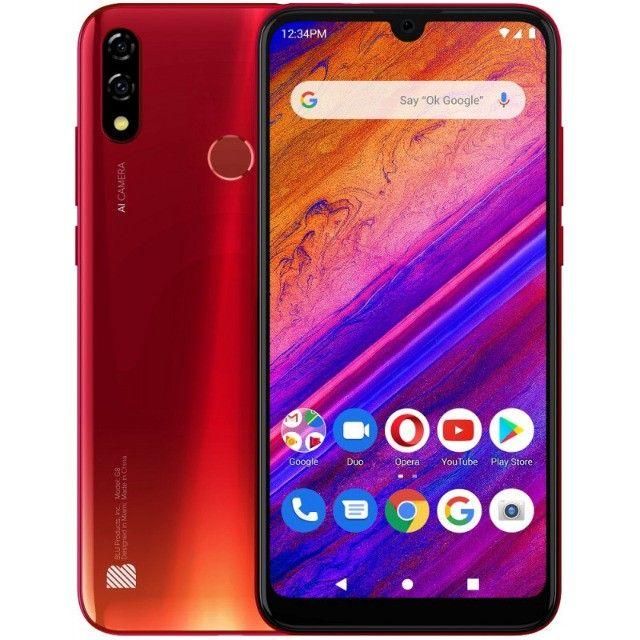 Smartphone Blu G8 G0170ll Lte 64Gb Tela 6.3 Vermelho - Promoção