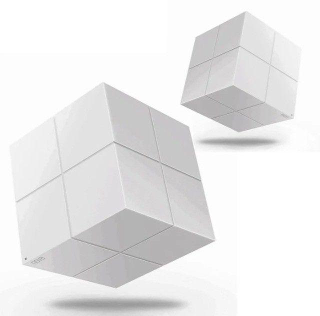 Kit 2 Roteador Wi-Fi mesh Tenda nova MW6 branco 110V/240V