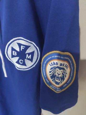 Camisa do Barra Mansa Oficial Comemorativa de Campeão da Segunda Divisão Carioca 2014 - Foto 3
