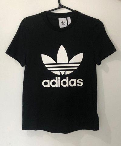 Camisa Trefoil Adidas Feminina