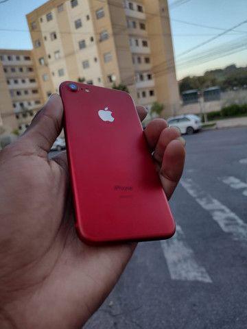 iPhone 7red 128gb bateria 96% - Foto 6