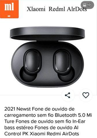 Fone de ouvido da Xiaomi zerado na caixa - Foto 2