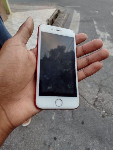 iPhone 7red 128gb bateria 96% - Foto 5