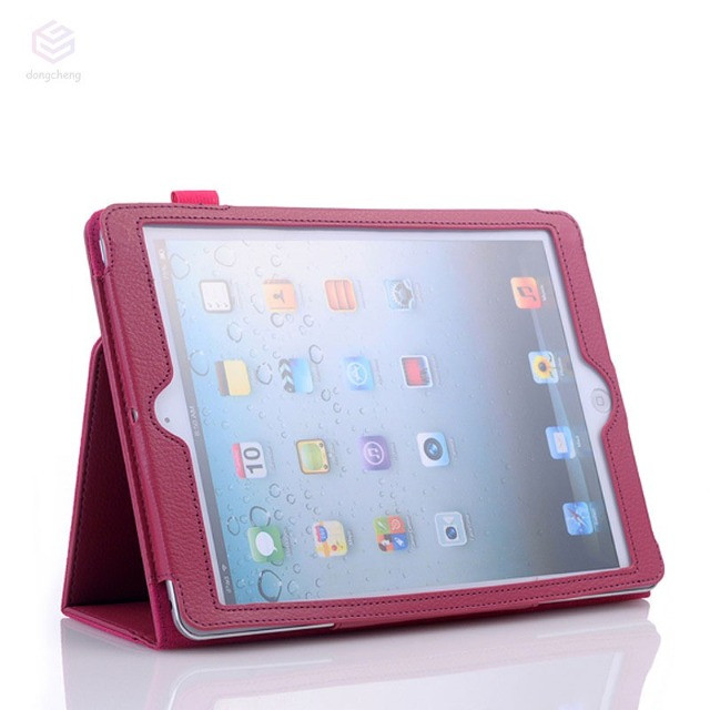 Capa Ultra Fino Para iPad Mini 1/2/3 Couro Pu - Rosa - Novo