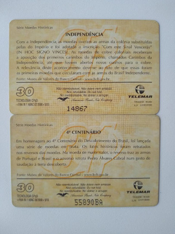 Cartões telefônicos - Foto 3