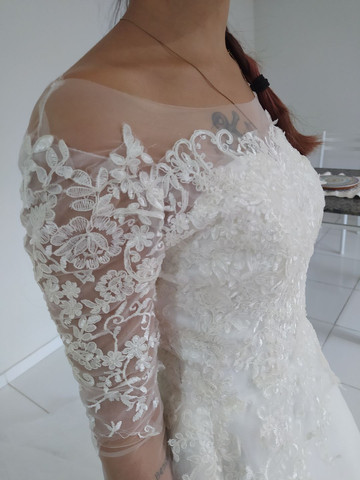 Vestido de noiva  - Foto 6