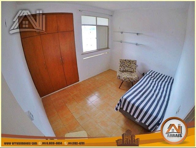 Apartamento com 3 dormitórios à venda, 96 m² por R$ 280.000,00 - Vila União - Fortaleza/CE - Foto 8