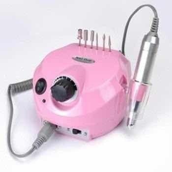 Lixadeira Elétrica (Potência 30.000 RPM Acrigel e Fibra de Vidro)  Frete Grátis! - Foto 2