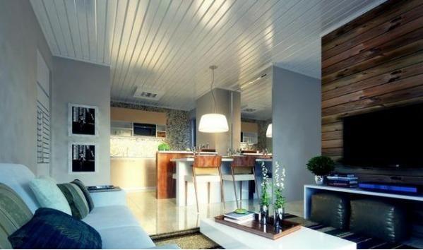 Forro PVC Branco R$22,99m² > Casa Nur - O Outlet do Acabamento - Foto 3