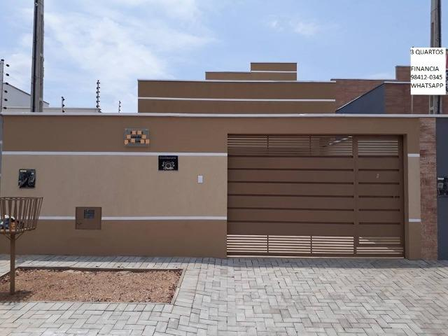 Casa Nova De Alto Padrão Individual Na Região do Centro de Palmas-To Financia 3 Quartos