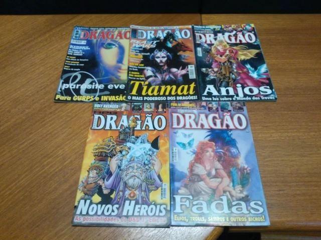 Revistas Dragão Brasil Rpg, Como Desenhar Mangá, DC Liga da Justiça
