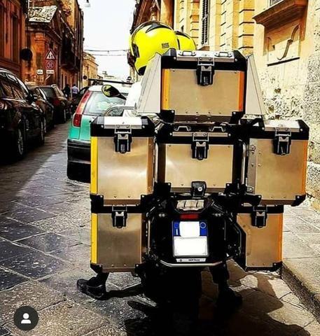 Venda suas malas originais bmw modelo vario - Foto 3