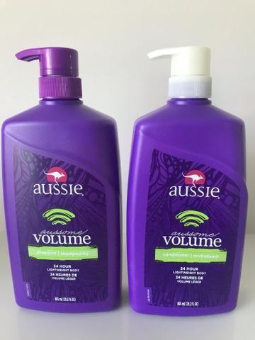 7d0fb67b81 Aussie shampoo e condicionador Volume 865ml - Beleza e saúde - Barra ...